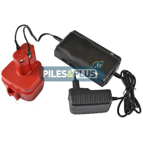 Chargeur universel pour batterie NICD+NIMH de 4.8V-18V