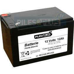 Batterie 12V 12Ah - batterie au plomb étanche rechargeable