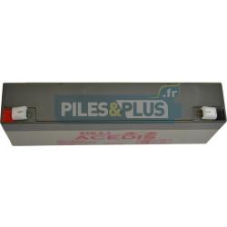 Batterie 12V 2,2Ah - batterie plomb étanche rechargeable Acedis