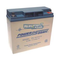 Batterie 12V 17Ah - batterie plomb étanche rechargeable Powersonic