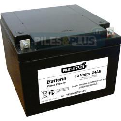 Batterie 12V 24Ah - batterie plomb étanche rechargeable Powersonic