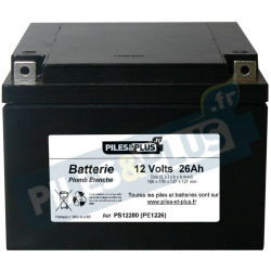 Batterie 12V 26Ah - batterie plomb étanche rechargeable