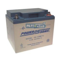 Batterie 12V 38Ah - batterie plomb étanche rechargeable Acedis