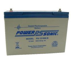 Batterie 12V 100Ah - batterie plomb étanche rechargeable Powersonic