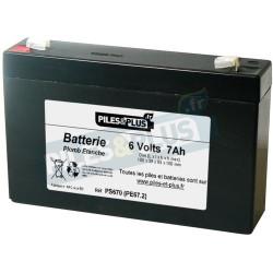Batterie 6V 7Ah - batterie plomb étanche rechargeable