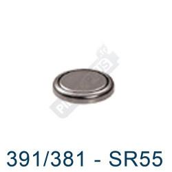 Pile montre 391 - SR1120W - pile oxyde d'argent Maxell SR55- 1,55V