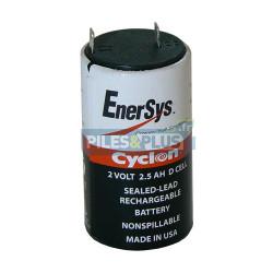 Accu Cyclon 2V 2.5Ah – 0810-0004 – Batterie plomb étanche