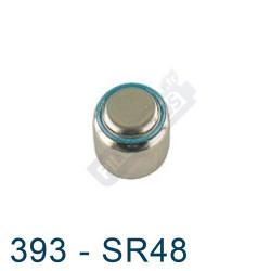 Pile montre 393 - SR48 - oxyde d'argent Energizer - 1,55V - par 1