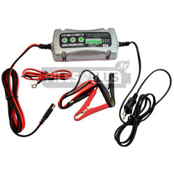 Chargeur intelligent tout type de batteries plomb 6V - 12V - 3.5Ah