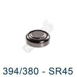 Pile montre 394/380 - SR45 - oxyde d'argent Maxell - 1,55V - par 1