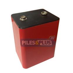 Pile PP9 alcaline 9V type 6F100 - 439 - par 1