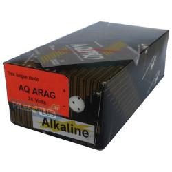 Pile arago - alcaline 24V parallélépipédique - 205(L)x65(h)x100(l) mm