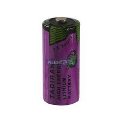 Pile TADIRAN 3,6V 2/3AA - SL-761/S 1500MAH lithium