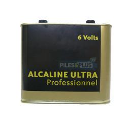 Pile alcaline 6V métal pour phare - porto LR820 / 4R25-2
