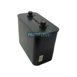 Pile saline 6V pour phare - porto 825 / 4R25-2