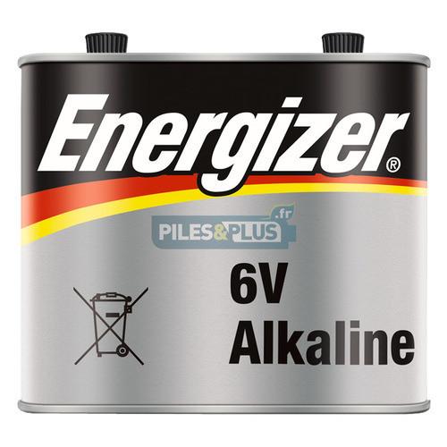 Pile alcaline 6V métal pour phare - porto LR820 / 4R25-2 - Energizer