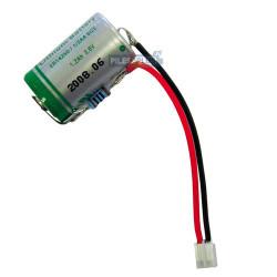 Pile LS14250 lithium pour tachymètre poids lourds 3,6V