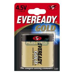 Pile 3LR12 4.5V - pile plate 4,5V alcaline Eveready