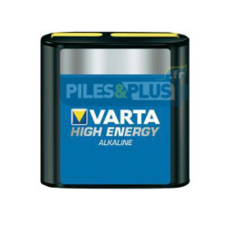 Piles Alcalines 4,5V 3LR12 Varta High Energy 4,5V - par 1