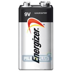 Pile 9V 6LR61 - Pile Carrée Alcaline 9V Energizer ultra+ - EN624646