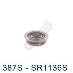 Pile montre 387S - SR1136S - oxyde d'argent Energizer - 1,55V - par 1