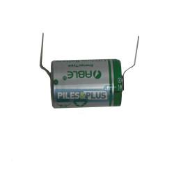 Pile SAFT LS14250 1/2AA 3,6V - lithium industriel - languettes
