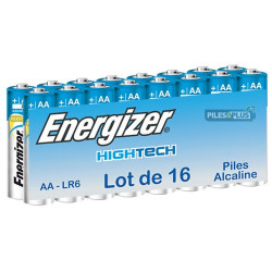 Pack de 16 piles AA - LR6 - Energizer High Tech