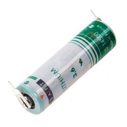 Pile SAFT LS14500PF LSH6 3,6V - lithium industriel - picots 2/1
