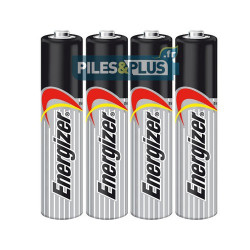 Piles AAA LR03 Alcalines Energizer - par 4