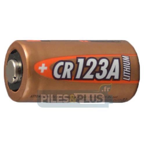 Pile photo Lithium CR123 - CR123A - DL123 - CR17345