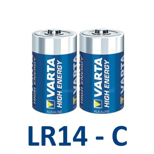 Piles C - Piles LR14 Alcalines - Varta High Energy 1,5V - VA4914