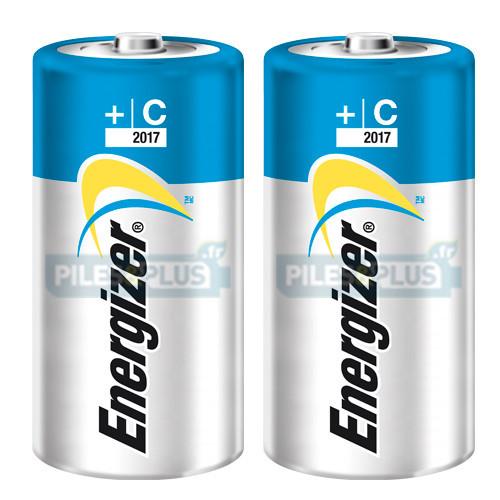 Pile LR14 - Pile C - Pile Alcaline Energizer High Tech - par 2