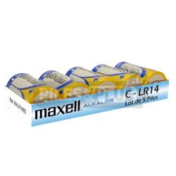 Pack Piles Alcaline C - LR14 Maxell 1.5V - Par 5