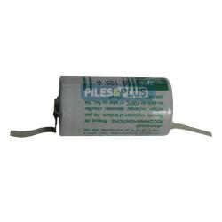 Pile SAFT LS26500 C 3,6V 5.8Ah - lithium industriel - languettes