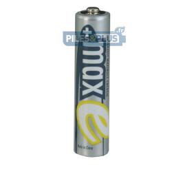 Piles rechargeables AAA prête à l'emploi 800mAh Ansmann MaxE - par 4