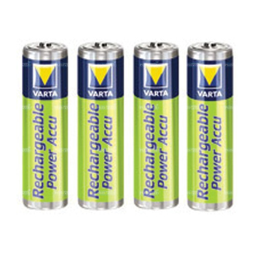 Piles rechargeables aaa nimh accu hr03 800mah varta par 4 - Pile rechargeable aa ...
