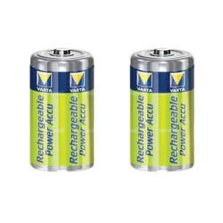 Piles rechargeables C HR14 NIMH - accu 3000mAh Varta - par 2