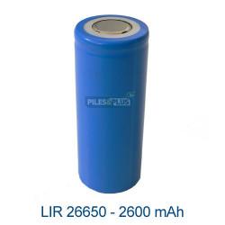 Batterie LIR26650 Li-ion – 3.7V 2600mAh - sans PCB