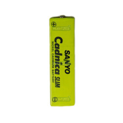 Accumulateur prismatique Sanyo NiCd 650mAh - KF-A650