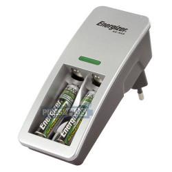 Mini chargeur de piles Energizer + 2 AAA HR03 850mAh incluses