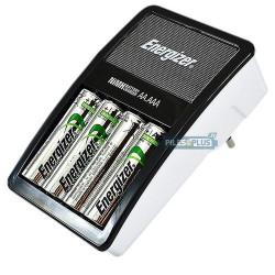 Chargeur de piles ultra compact Energizer + 4 AA 2000mAh