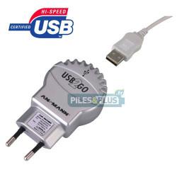 Chargeur secteur 1 port USB Ansmann pour recharger MP3 / appareil USB