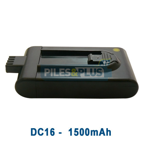 Batterie pour aspirateur Dyson DC16 21,6V 1500mAh Li-ion
