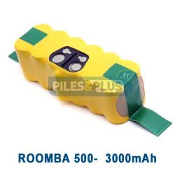 Batterie pour iRobot Roomba série 500 - 14.4V 3000mAh NiMH