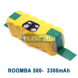 Batterie pour iRobot Roomba série 500 - 14.4V 3300mAh NiMH