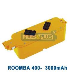 Batterie pour iRobot Roomba série 400 - 14.4V 3000mAh NiMH