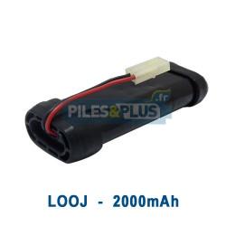 Batterie pour nettoyeur iRobot Looj 7.2V NiMH 2000mAh