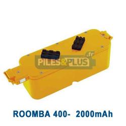 Batterie pour iRobot Roomba série 400 - 14.4V 2000mAh NiMH