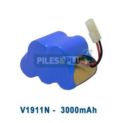 Batterie pour aspirateur Shark V1911N - 6V 3000mAh NiMH