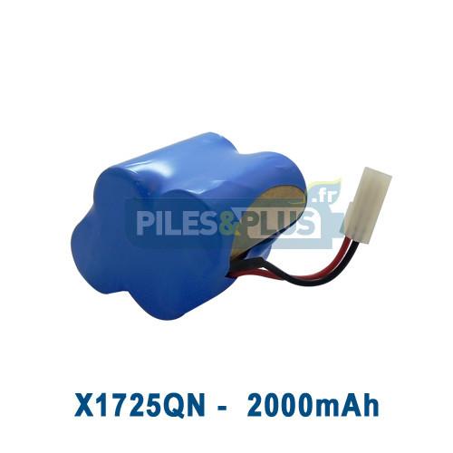 batterie pour aspirateur shark x1725qn 4 8v 2000mah nimh changez votre batterie d 39 aspirateur. Black Bedroom Furniture Sets. Home Design Ideas